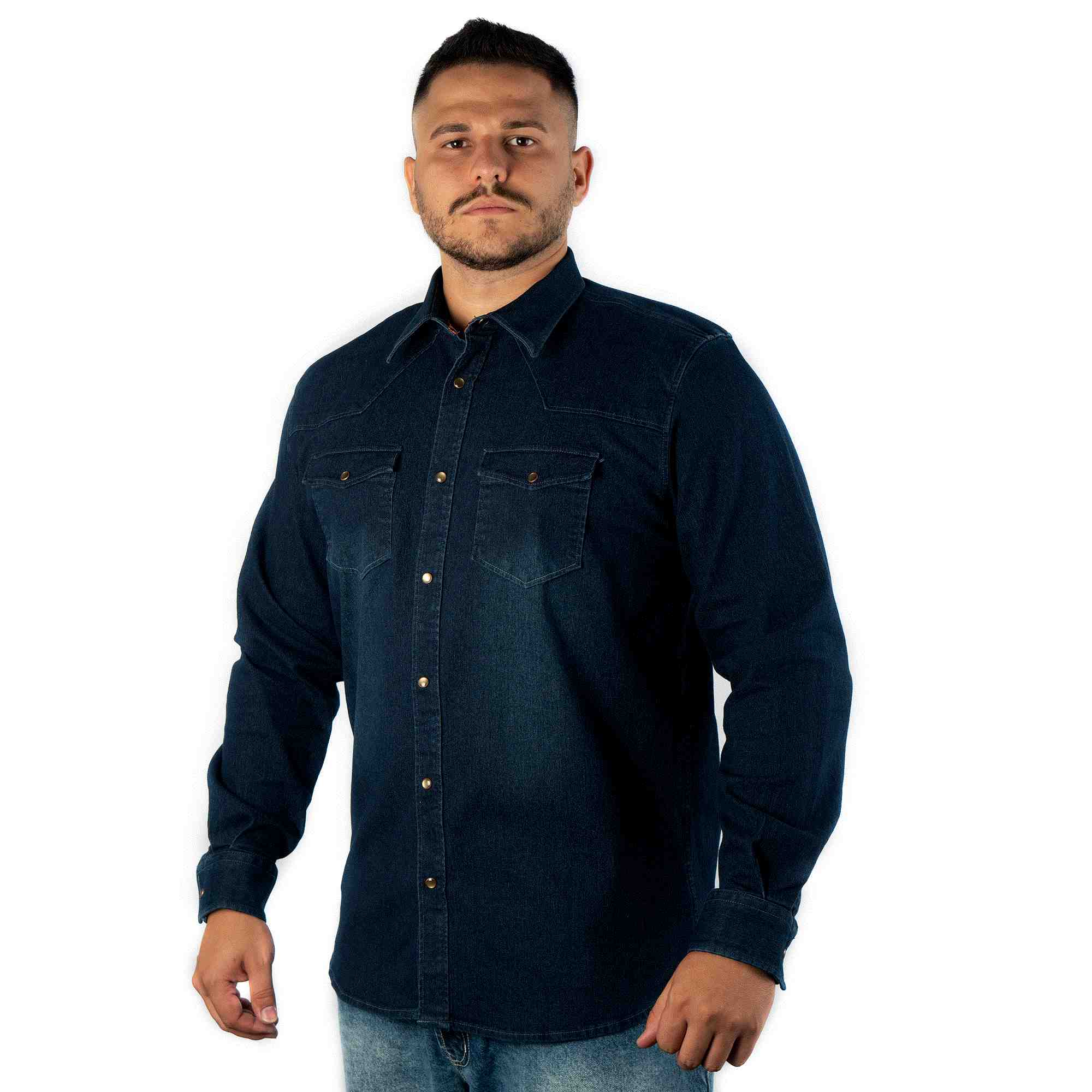 Foto de CAMISA ML JEANS NARROW COD642
